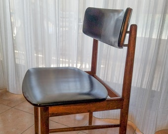 Eine Skandinavische Vintage Teakholz Stuhl Design Von S. Chrobat Für  Sax Editor, 1960 MCM Mitte Jahrhundert Modern, Ideal Als Schreibtisch Oder  Im Büro ...