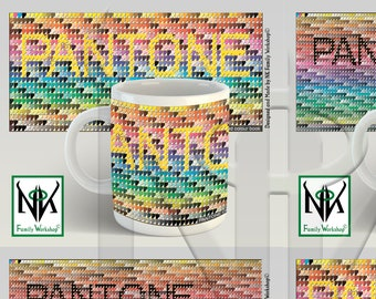 PANTONE >CMYK Colour Bridge Coated Colour Book< Mug