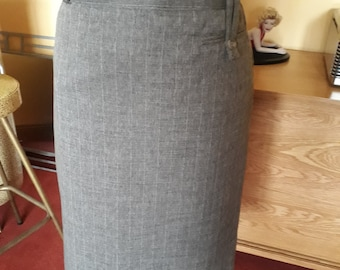 Skirt pencil 1950s and vintage style