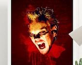 Lost Boys Vampire David Art Poster Print - Wall Art - Size A4