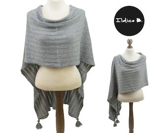 Kashmirponcho/Stola/scarf