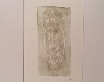 Leaf | Original Hand Pulled Print