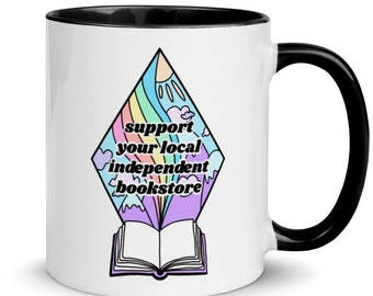 Support Your Local Independent Bookstore Mug
