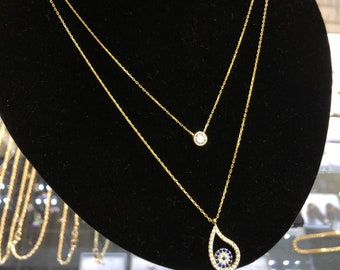Double Strand 18K Gold Filled Turkish Necklace