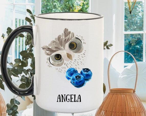 Personalized Vintage Owl Coffee Mug - Perfect Christmas Gift, Best Birthday Present