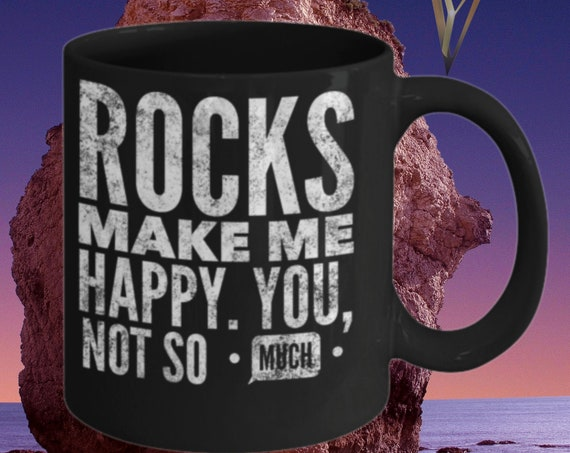 Geology Gift | Geology Mug | Personalized Gift For Rock Hunter | Funny Geologist Mug | Rock Climber
