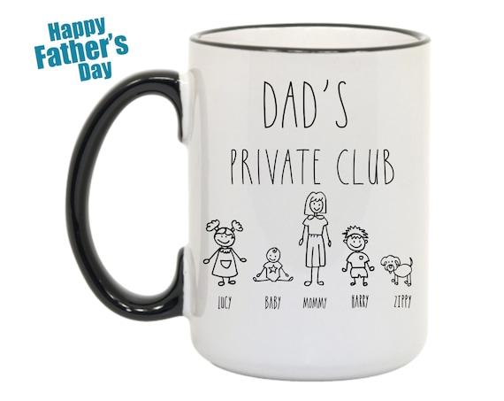 Funny Mug Fathers Day, Funny Fathers Day Mug, Fathers Day Mug Funny, Funny Mug Dads Day, Funny Dad Mug, Funny coffee mug Fathers day