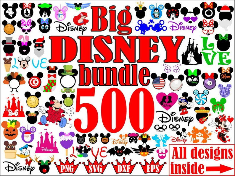 Disney svg, Mickey mouse ears svg, Mickey mouse birthday svg file for  cricut, Mickey mouse head svg, Mickey mouse 1st birthday svg, dxf, eps