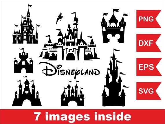 Disney World: Disney World Castle Vector