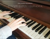 People who have favorited BTS(방탄소년단) - Euphoria: PIANO COVER