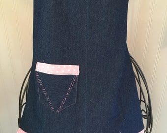 Child's Denim Apron