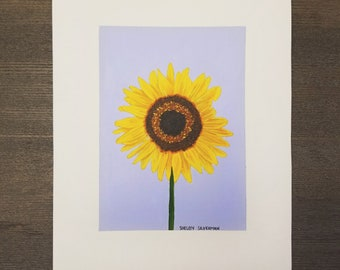Sunflower Painting 8 x 10 inches