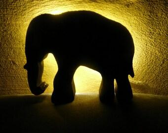 Lampe Tischlampe Elefanten Romantisch Etsy