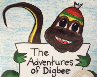 Children's Book The Adventures of Digbee - Have You Seen My Touque?