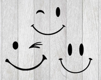 smiley face etsy