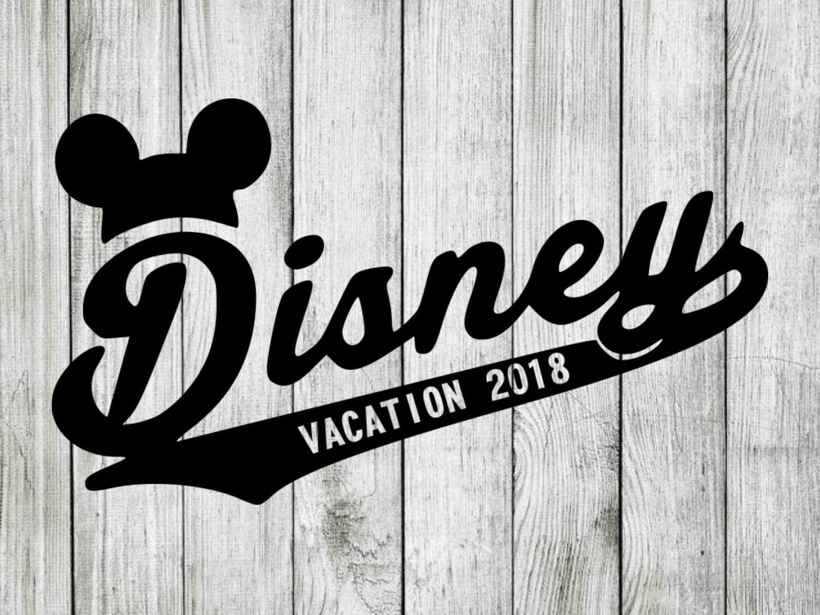 Disney Vacation Svg Disney Vacation Clipart Disney Svg Cut Etsy
