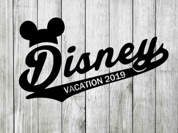 Disney Vacation 2019 Svg Disney Vacation Clipart Disney Svg Etsy