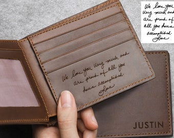 Engraved Wallet For Son Etsy