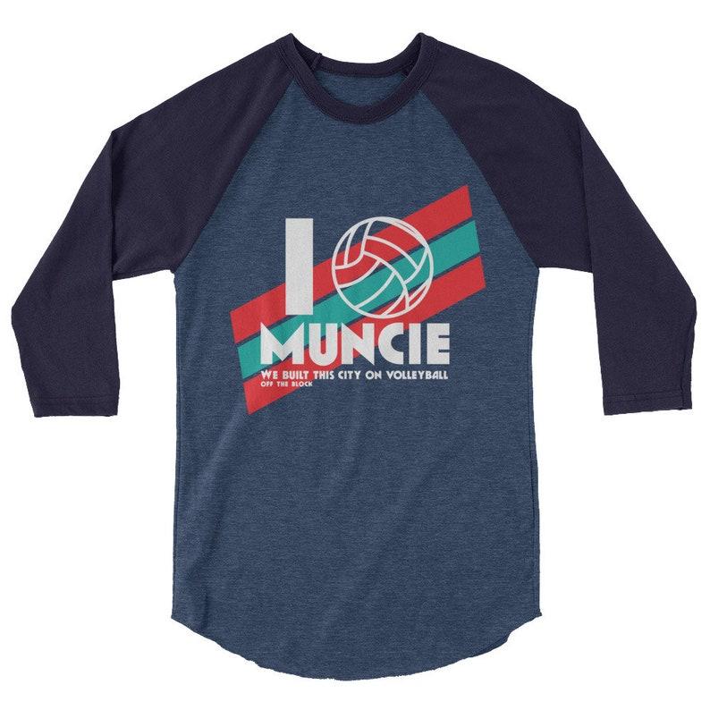 Muncie 3/4 sleeve raglan shirt image 0