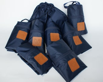 original waterproof luggage bags tripbags travelbags making packaging easy  bags for the suitcase a set of seven elements