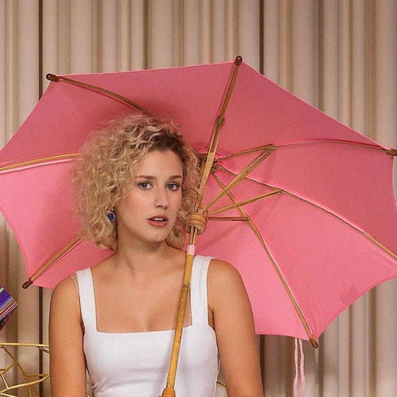 10/% to NBCF Small Pink Supabrella Plastic Free Fair Trade and Biodegradable Umbrella