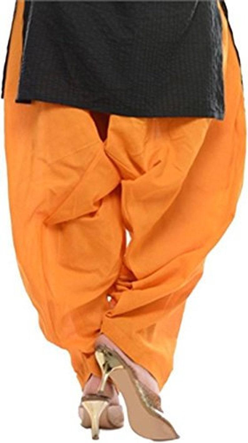 Indian Women/'s Gold Color Patiyala Trouser Pant Party Wear Casual Baggie Ethnic Beach Wear Salwar Harem Pant Plus Size