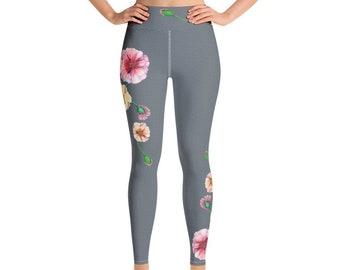 d7b00ce2ff6 Poppy Print Yoga legging