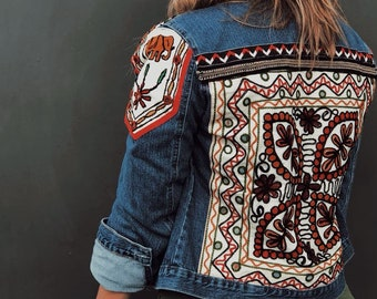 14e82be421f7 Embellished Jeans Jacket
