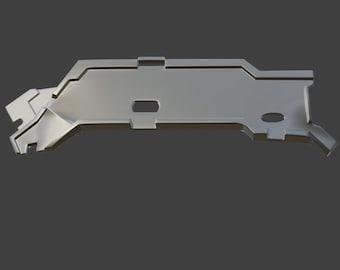 Aloy Carja Blazon Master chest armor 3D model