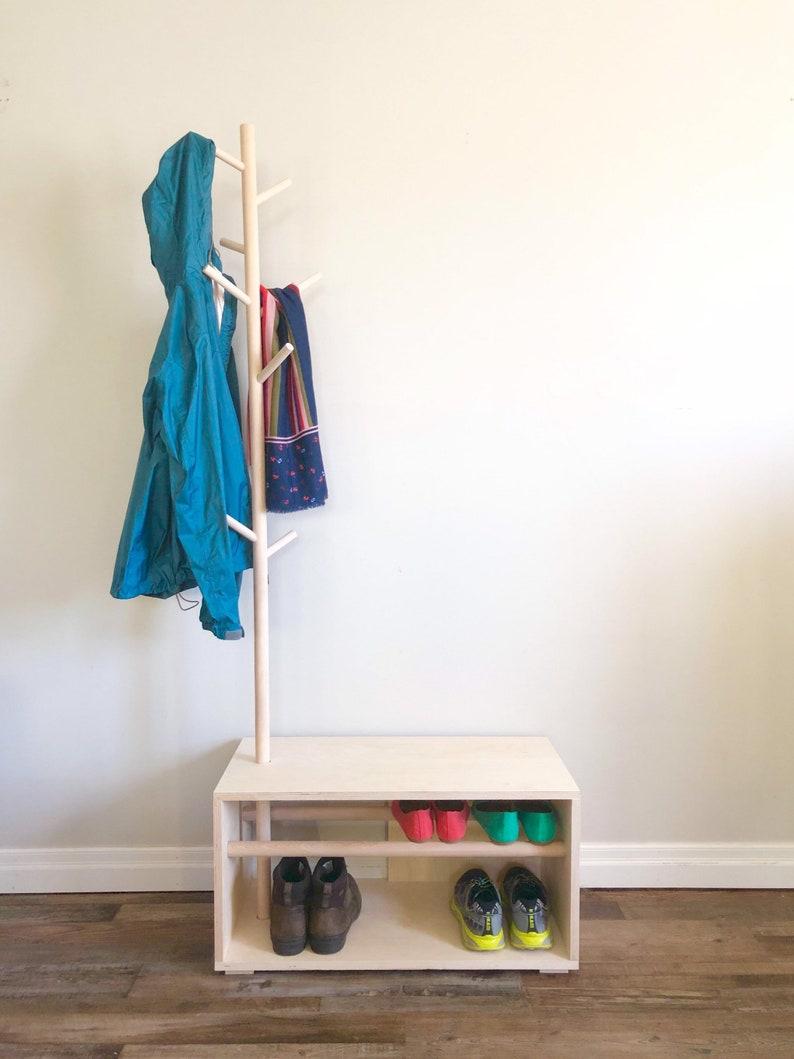 Shoe Bench Coat Rack Shoe Rack Coat Stand