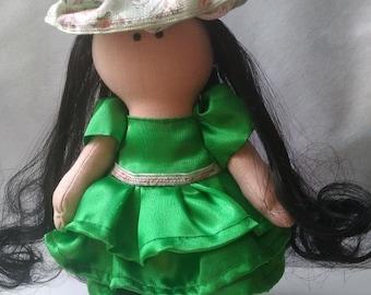 Ragdoll, Textile Doll, fabric doll, cloth doll, soft dolls, doll maker, handmade rag dolls