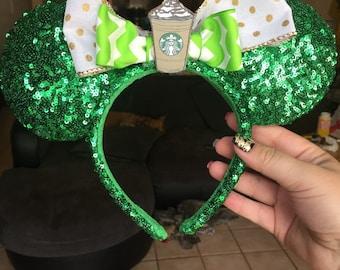 Coffee Lovers Minnie Ears