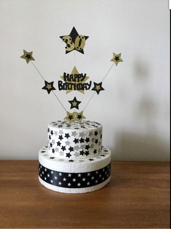Stupendous Personalised Exploding Star Birthday Cake Topper Any Etsy Funny Birthday Cards Online Elaedamsfinfo