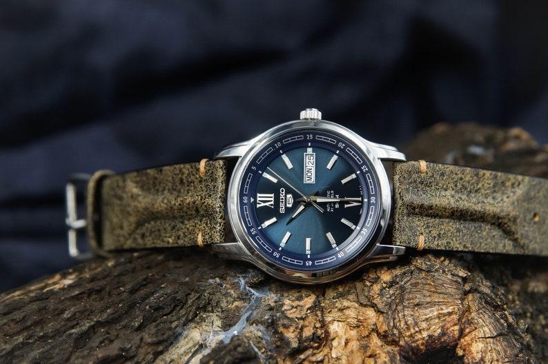 5416322e4 Italian Leather Handmade Watch Strap Watch Band for 22mm Lug   Etsy