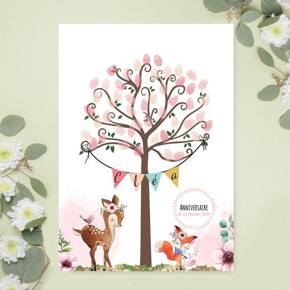 Baum Baum Drucke Für Die Taufe Geburtstag Fußabdrücke Baum Druckt Baum Druckt Für Kind Doe