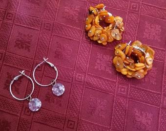 Earrings hoop style