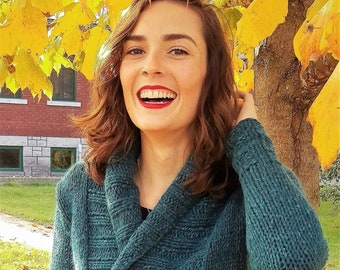 The Carrie Wrap Knitting Pattern