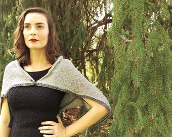 The Two Way Shrug Knitting Pattern