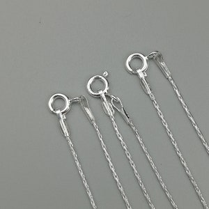 unique layering necklace silversmith jewelry Artisan handmade sterling silver chain necklace Small wrapped links