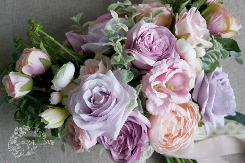 Wedding Bouquet,Pink Bouquet,Purple Bouquet,Bridal Bouquet,Bridesmaid Bouquet,Wedding Flowers,Wedding Decorations,Boho wedding Bouquet
