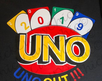 Senior Class of 2019 Uno Out Tee