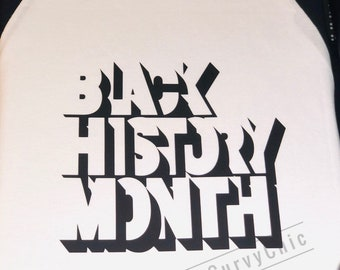 Black History Month Raglan