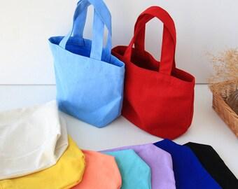 4afba2913 mini canvas tote bag // kids school canvas tote // school tote bag // mini  tote bag // small canvas tote bag // mini canvas tote // tote bag