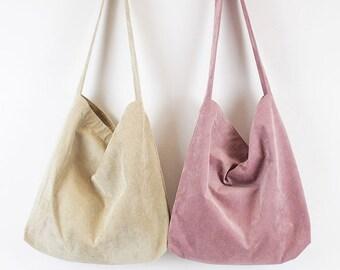 5a661e925 Minimalist tote bag, Canvas Tote Bag, canvas tote, tote bag, canvas totes,  corduroy tote bag, minimalist totes, winter tote bag, totes