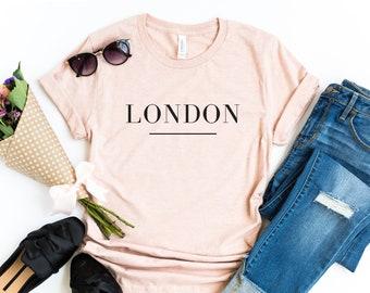 044b952966caa2 London Shirt, London Tshirt Women, London Tshirt, Traveler Shirt, Womens  tshirt, Cute tshirt women, Unisex Tshirts, London, Blogger shirt
