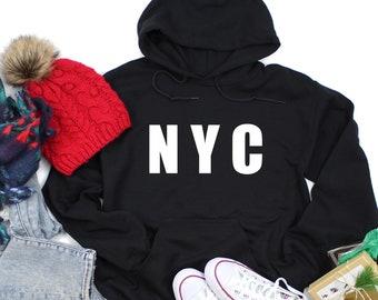 0bda962b New york hoodie | Etsy