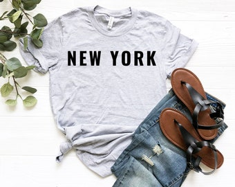 New York Shirt. New York T shirt. New York Tshirt. New York shirt for Women.  New York Tee. Womens graphic tees. New York State Shirt db36dbed7d85