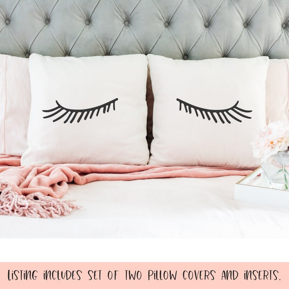 Eyelash Bedding For Teens Eyelash Throw Pillow Eye Throw Pillow Throw Pillows For Teen Girls Eyelash Pillow Set Teen Bedding Set