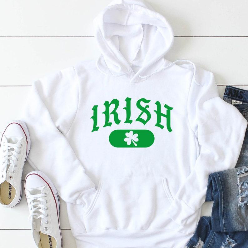 59c20863 Irish hoodie. Fighting Irish Hoodie. Notre Dame Hoodie. Notre   Etsy