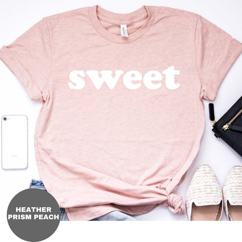 7622e328c Sweet Shirt Sweetheart T-shirt for women Women's Graphic | Etsy